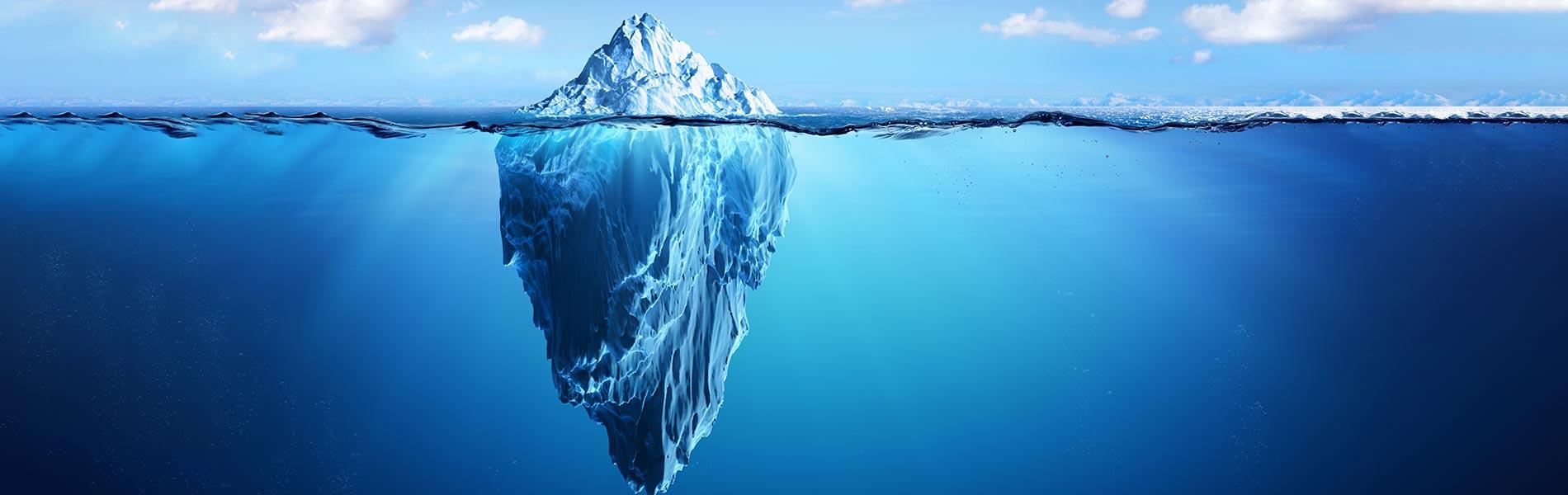 CRM is like an iceberg