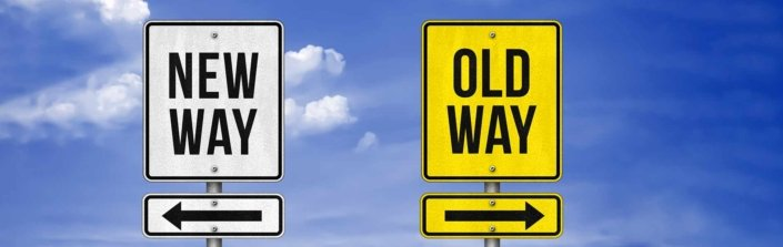 MicroPartner,sign with new way and old way, CRM skal udfordre din forretningsmodel
